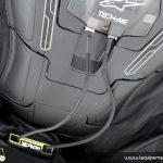 Blouson moto alpinestar airbag
