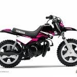 Moto 50cc rose et noir