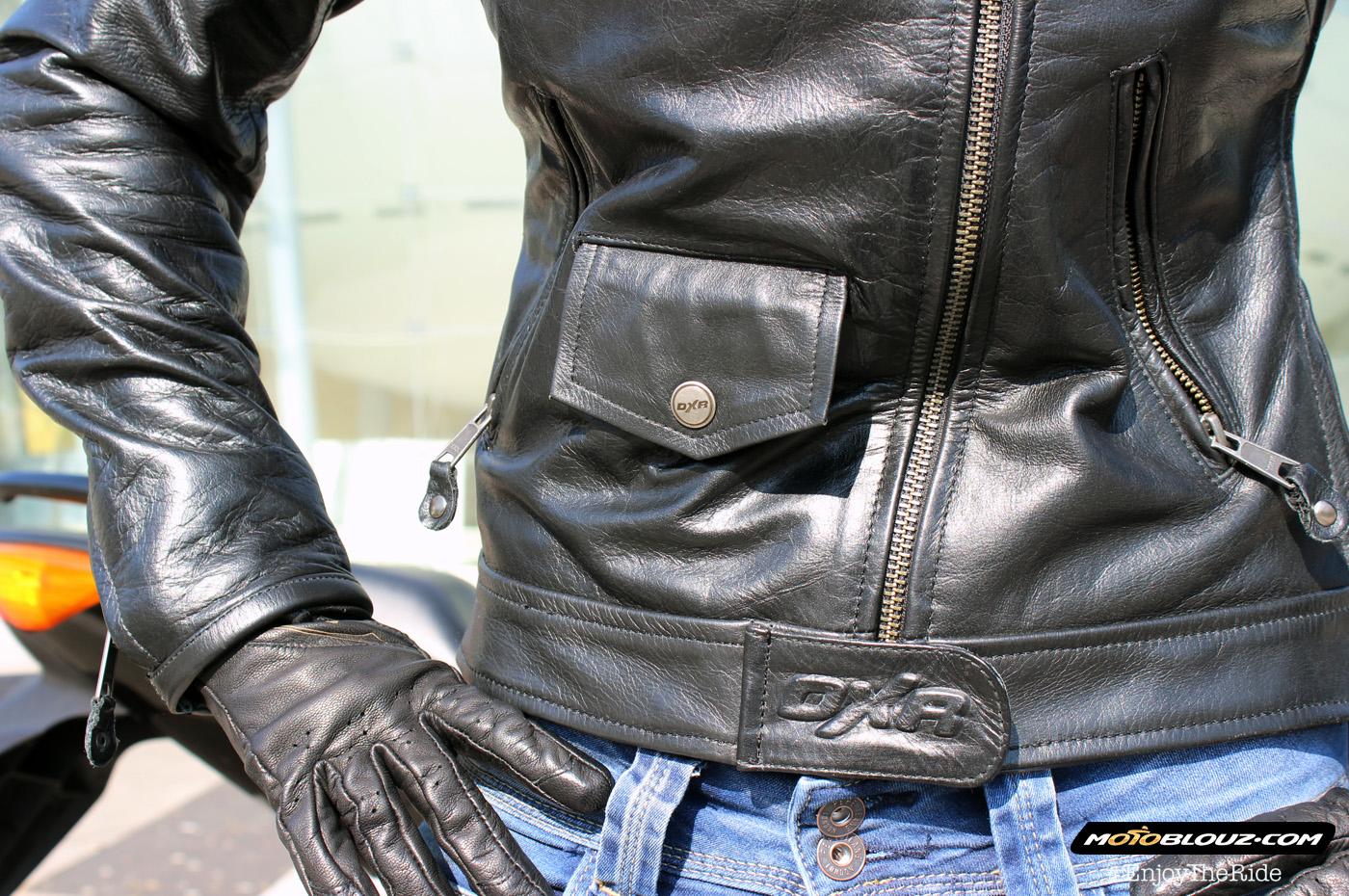 Taille blouson de moto