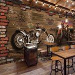Garage vintage moto
