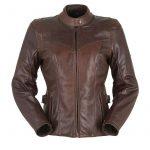 Blouson cuire femme moto