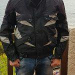 Blouson moto furygan tissus