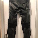 Pantalon cuir moto femme richa