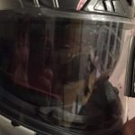 Gant moto essuie glace
