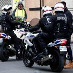 Equipement radio moto police