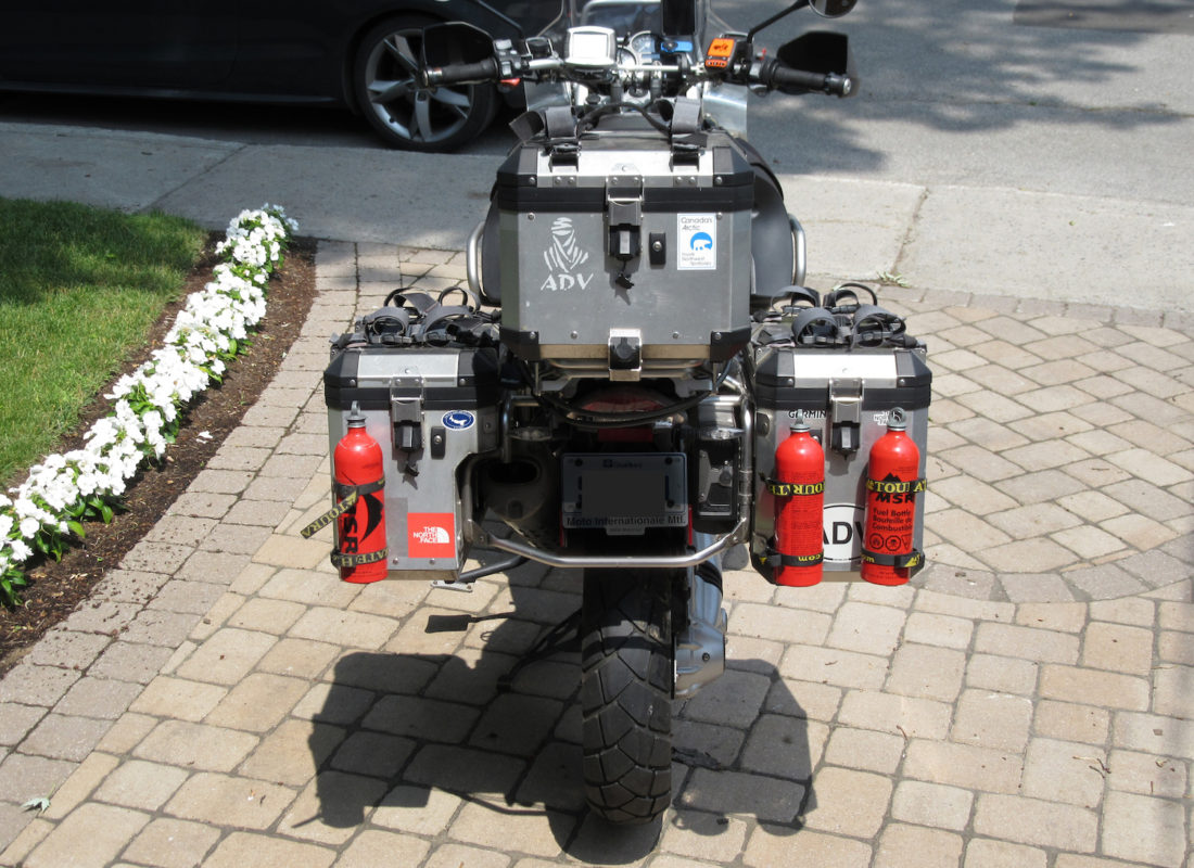 Equipement touratech moto