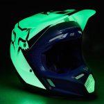 Equipement moto cross fox bleu