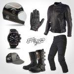 équipement moto café racer