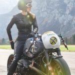 Botte moto femme vintage