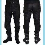 Pantalon cuir moto piste