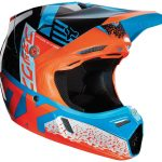 Equipement moto cross fox orange