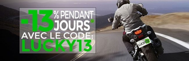 Promotion équipement moto