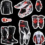 équipement moto cross homme
