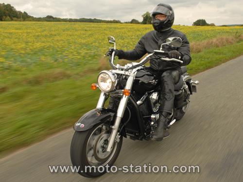 Equipement moto pour custom