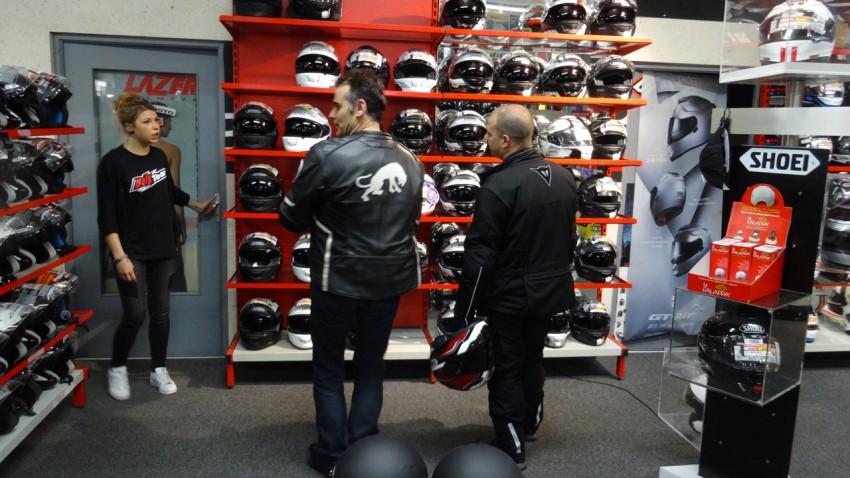 équipement moto à rennes