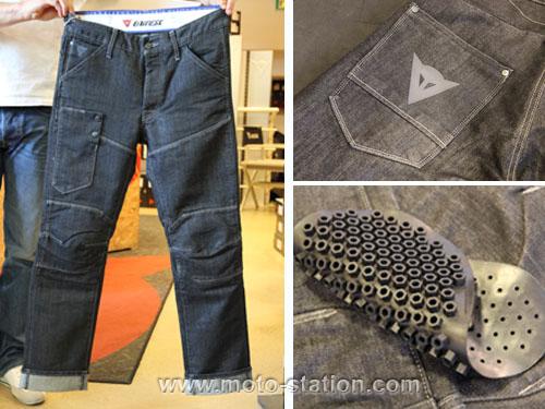 Pantalon renforcé moto