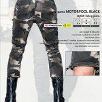 Pantalon camo moto