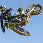 Equipement complet moto cross monster energy