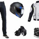 Test equipement moto