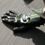 Test gant moto