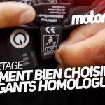 Gant moto homologué obligatoire