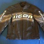 Blouson cuir victory moto