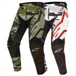 Pantalon moto cross camouflage