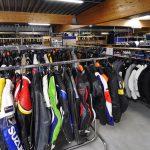 Equipement moto magasin d'usine