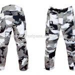 Pantalon camouflage moto