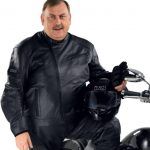 Blouson grande taille moto femme