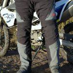 Pantalon moto trop grand