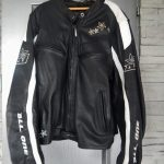 Blouson all one cuir moto