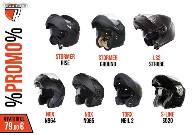 équipement moto promo
