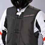 Blouson airbag moto homme