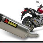 Equipement moto pot d'échappement