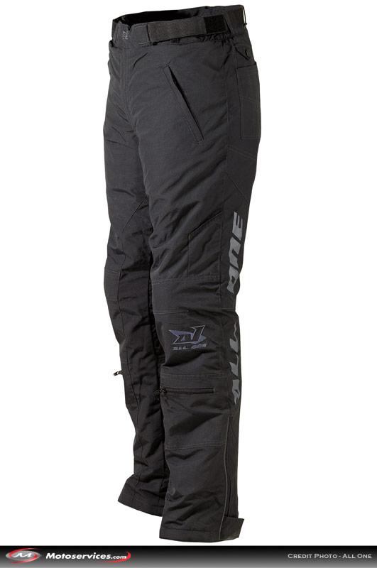 Zip pantalon moto