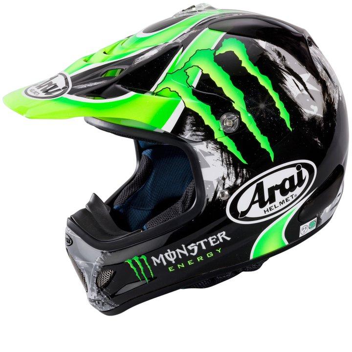 Equipement moto cross monster