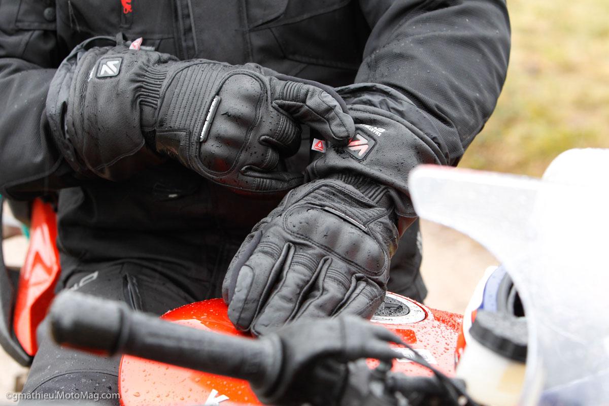 Gant chauffant moto 2017