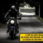 Gant moto chaud etanche