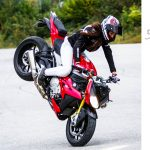 Stunt moto equipement