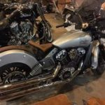 Gant moto indian