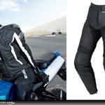 Pantalon cuir moto warm up