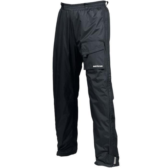 Pantalon pluie moto zip