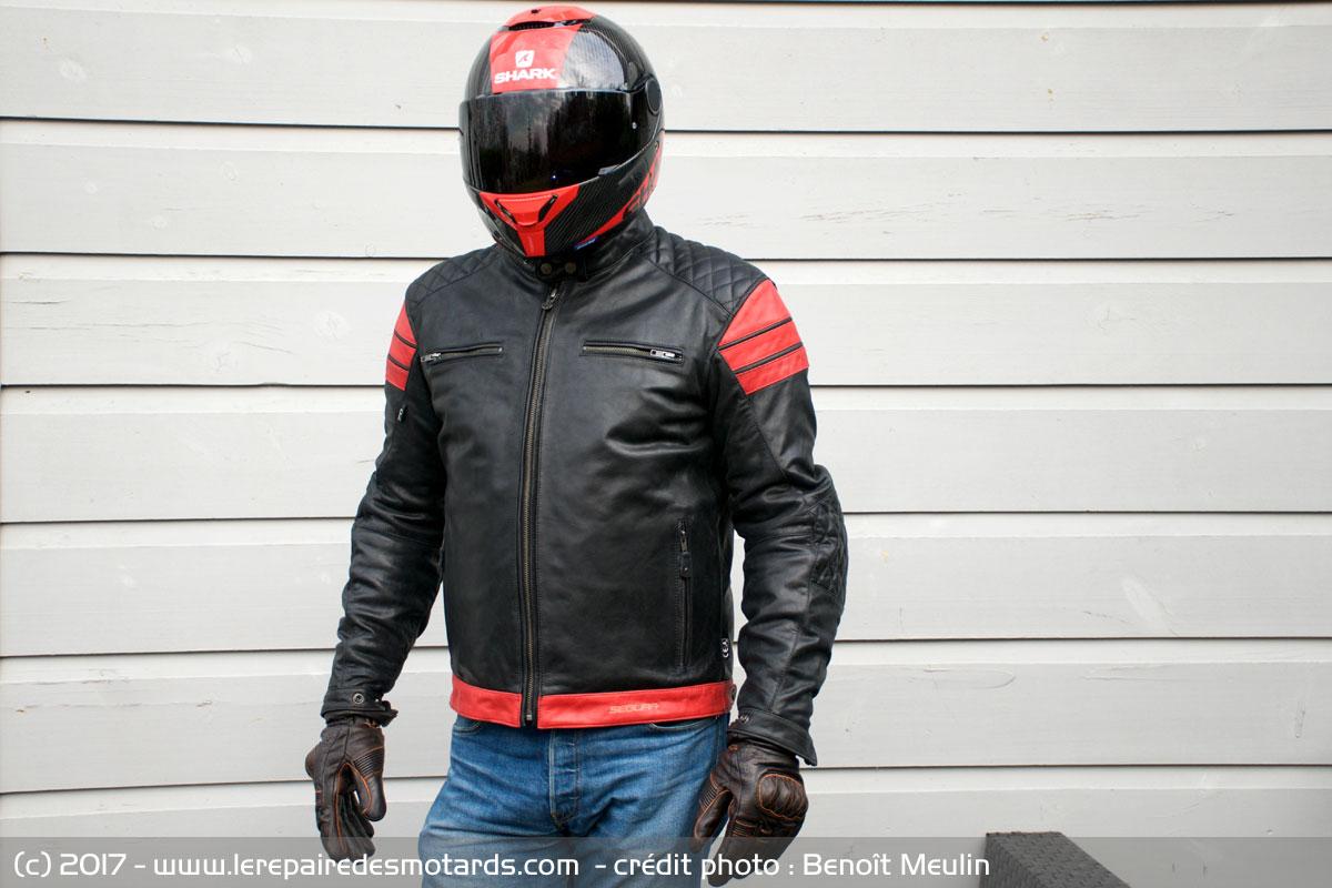Comparatif blouson cuir moto 2017