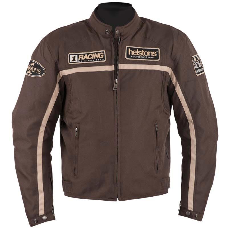Blouson moto cuir ou tissu