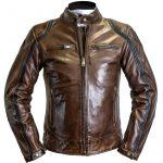 Blouson cuir moto homme hiver