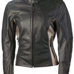 Blouson de moto cuir femme pas cher