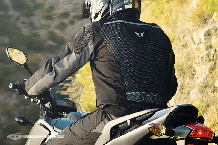 Blouson moto pour l'été