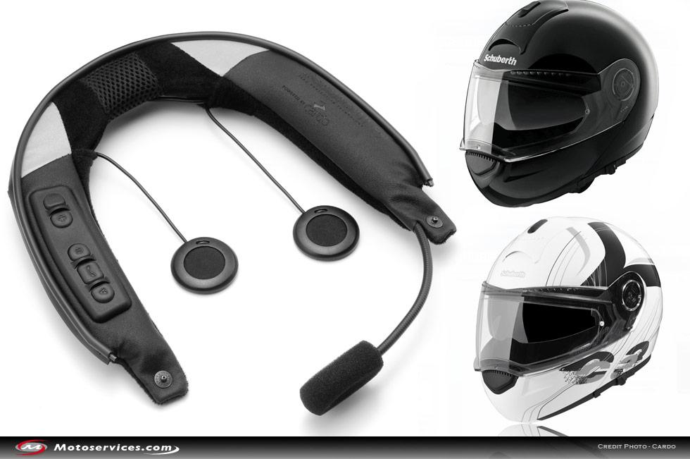Equipement audio pour moto