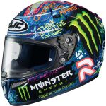Equipement moto route monster energy